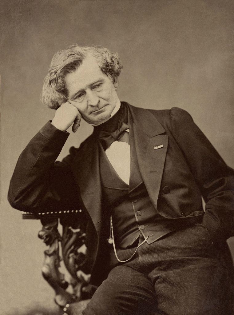 Hector Berlioz in 1863 by Pierre Petit