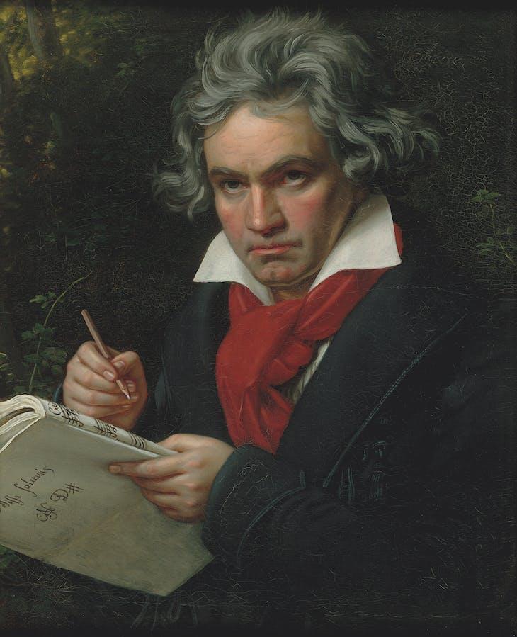 Ludwig van Beethoven (1770-1827) by Joseph Karl Stiele