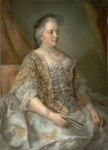 Empress Maria Theresa (1717-1780) in 1762, by Jean-Étienne Liotard