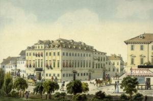 Theater-an-der-Wien, opened 1801, circa 1815