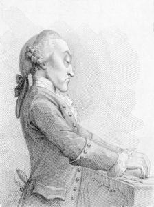 Thomas Arne, caricature