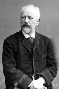 Pyotr Ilyich Tchaikovsky in 1890