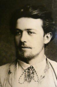 Anton Chekhov circa 1885