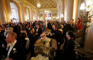 San Francisco Opera Gala, Opera House Lobby, September 8, 2017; a random snap