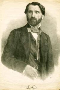Giuseppe Verdi in 1842