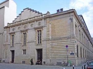The original Paris Conservatory building (until 1911) in Paris' 9th arrondissement