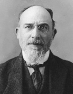 Erik Satie (1866-1925) circa 1919, soon after completing Socrate