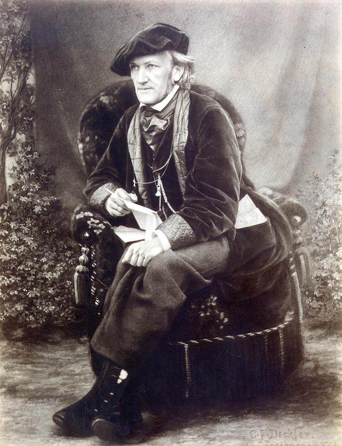 Richard Wagner circa 1868