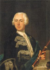Johann Joachim Quantz in 1735, by Johann Friedrich Gerhard