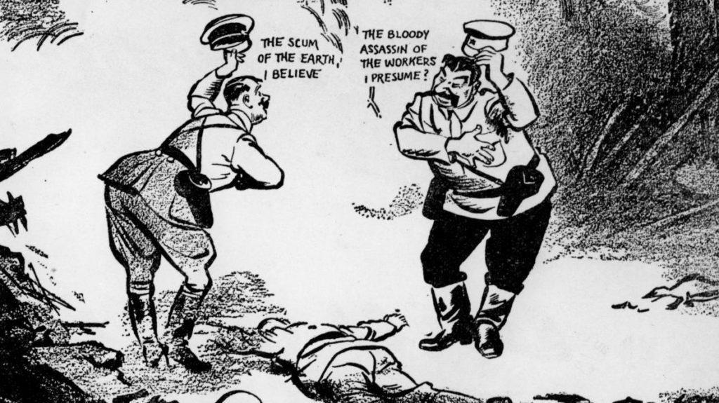 David Low (1891-1963), the London Evening Standard, September 20, 1939