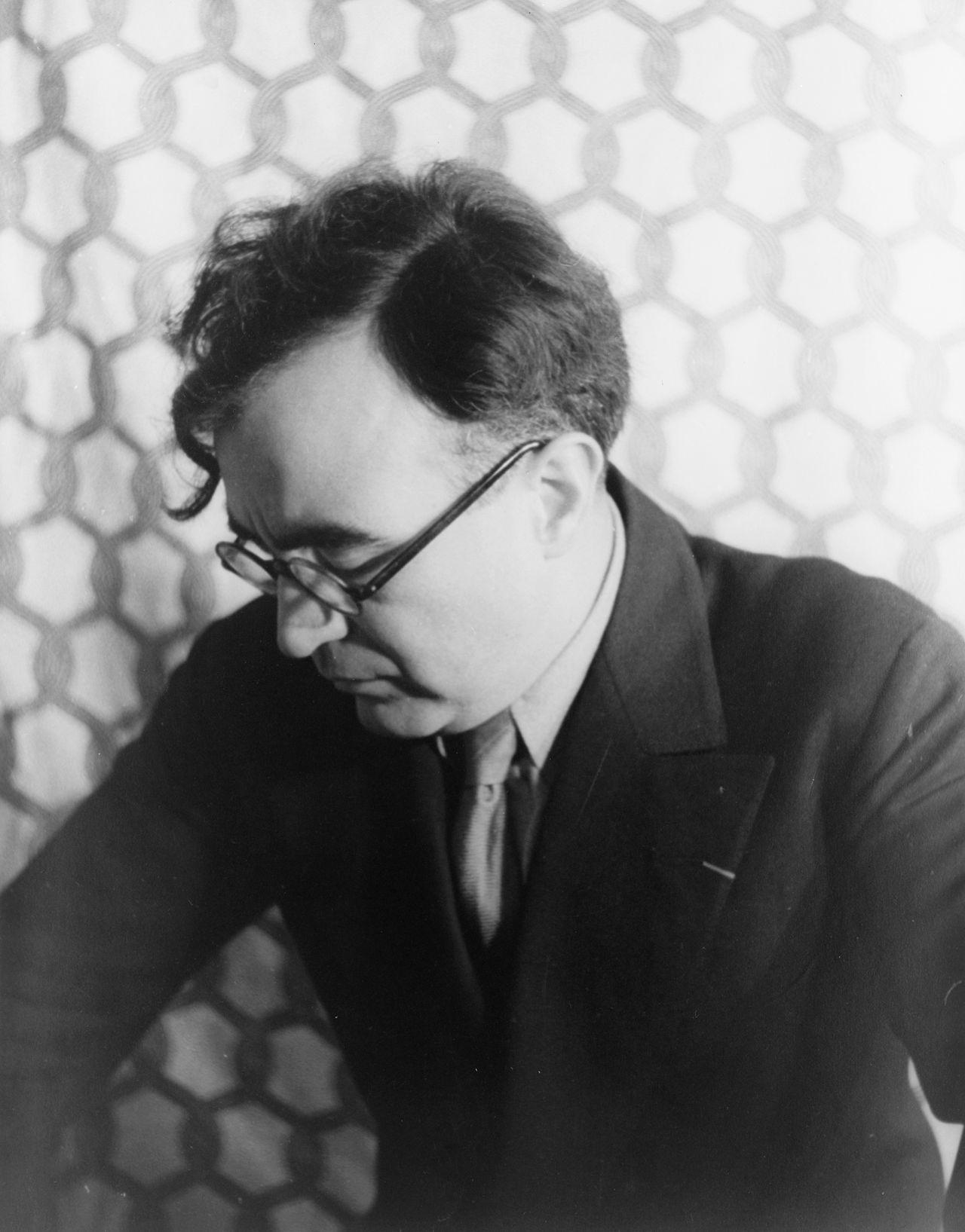 Carlos Chávez in 1937, photographed by Carl von Vechten