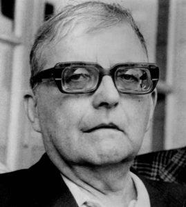 Dmitri Dmitriyevich Shostakovich in 1973