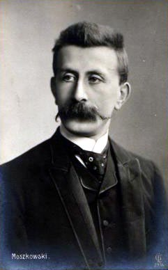 Moritz Moszkowski in 1880