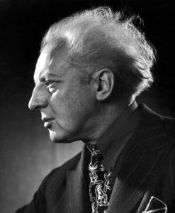 Leopold Stokowski in 1945, by Yousuf Karsh