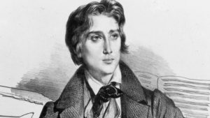 Franz Liszt in 1832, at the age of 21
