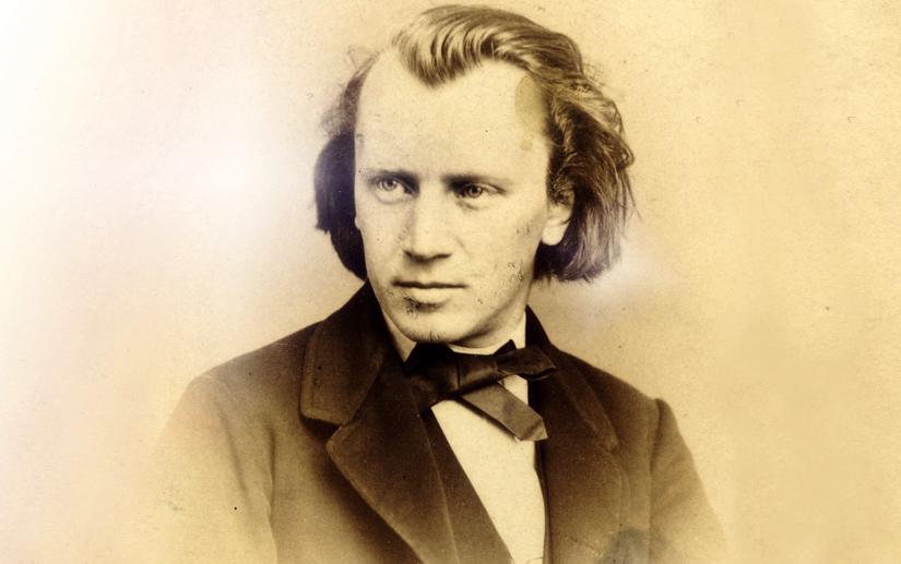 Johannes Brahms in 1860